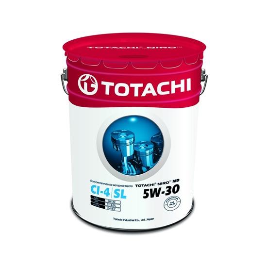 Моторное масло TOTACHI NIRO MD SEMI-SYNTHETIC 5W30 CI-4/SL  19л