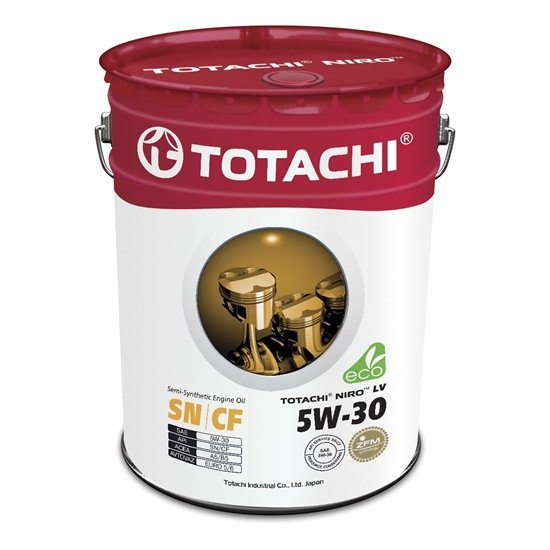 Моторное масло TOTACHI NIRO LV SEMI-SYNTHETIC 5W30 SN/CF 19л