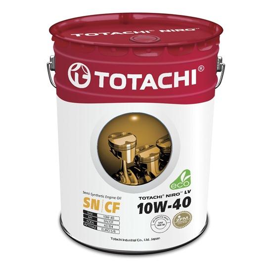 Моторное масло TOTACHI NIRO LV SEMI-SYNTHETIC  10W40 SN/CF 19л