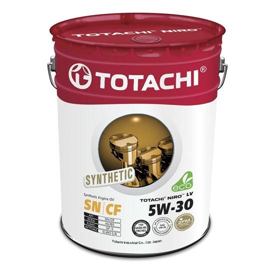 Моторное масло TOTACHI NIRO LV SYNTHETIC 5W30 SN 19л