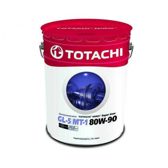 Трансмиссионное масло TOTACHI NIRO SUPER GEAR  GL-5/МТ-1 80W90 19Л