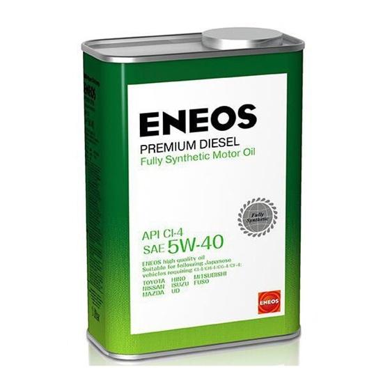 Моторное масло ENEOS CI-4  5W40  PREMIUM DIESEL синтетич  1 Л