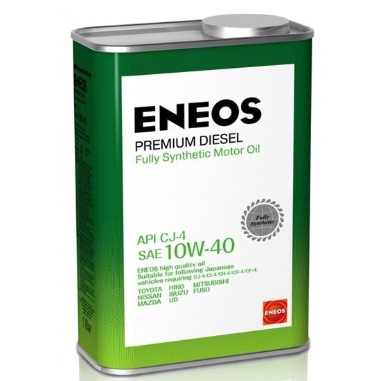 Моторное масло ENEOS CI-4 10W40 PREMIUM DIESEL синтетич 1 Л