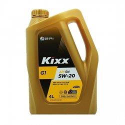 Моторное масло KIXX G1 5W20 SN 4Л