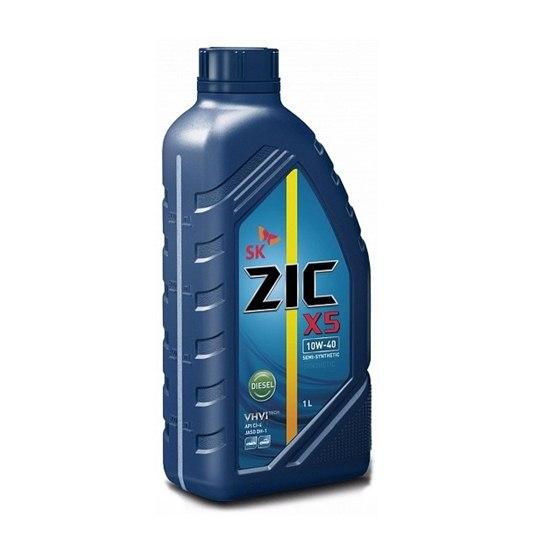 Моторное масло ZIC X5 10W40 DIESEL 1Л
