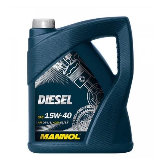 Моторное масло MANNOL DIESEL  SAE 15W40 5Л