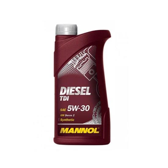 Моторное масло MANNOL TDI DIESEL SAE 5W30 1Л(common rail)