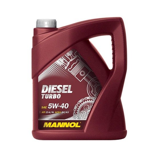 Моторное масло MANNOL TDI DIESEL SAE 5W30 5Л(common rail)