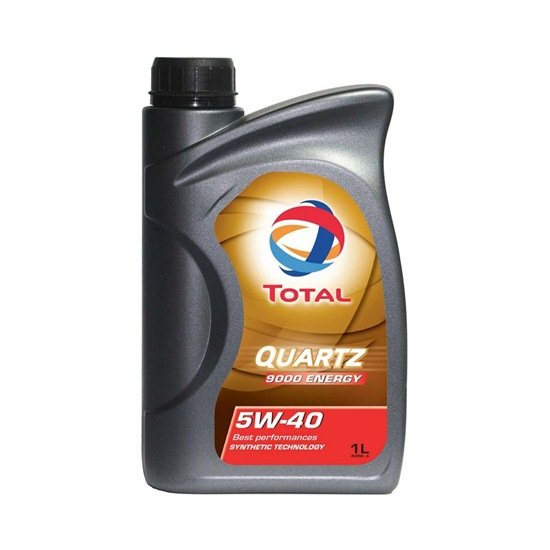 Моторное масло TOTAL QUARTZ 9000 5W40 1Л