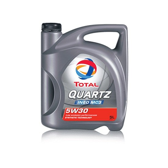 Моторное масло TOTAL QUARTZ INEO MC3 5W30 5л