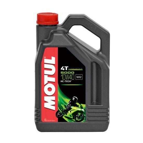 Моторное масло MOTUL МОТО 5000 4T 10W40 4Л