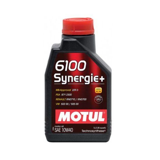 Моторное масло MOTUL  6100 SYNERGIE 10W40 1л