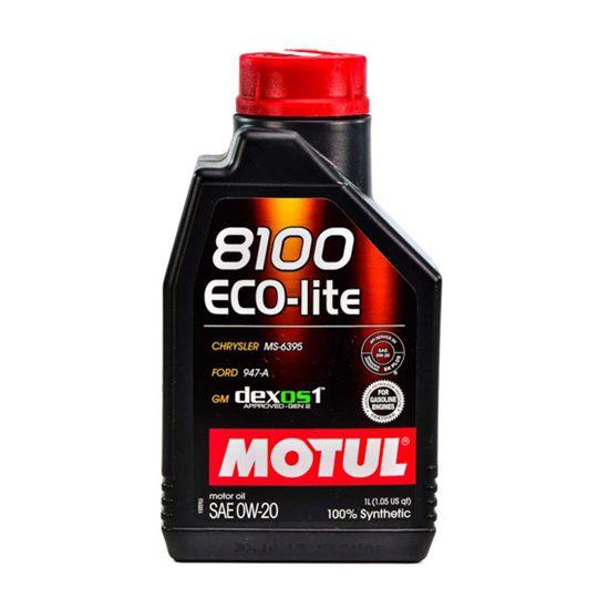 Моторное масло MOTUL  8100 ECO-LITE 0W20 1л