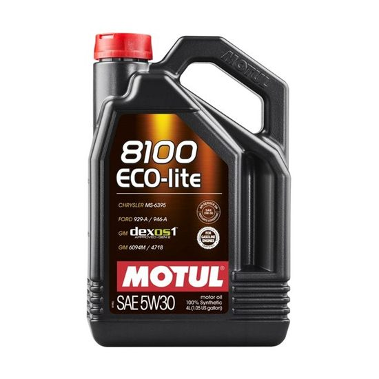 Моторное масло MOTUL  8100 ECO-LITE 5W30 4л