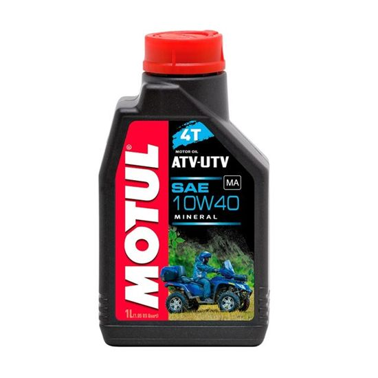 Моторное масло MOTUL ATV-UTV 4T 10W40 1Л