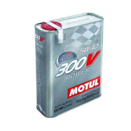Моторное масло MOTUL МОТО 300 V POWER 5W40 2Л