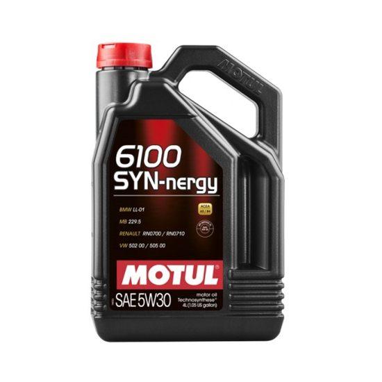 Моторное масло MOTUL  6100 SYN-NERGY 5W30 4Л