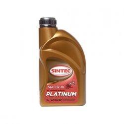 Моторное масло SINTEC ПЛАТИНУМ 5W30 синтетическое 1Л
