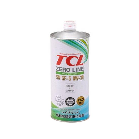 Моторное масло TCL ZERO LINE 0W30 SN/GF-5 1Л