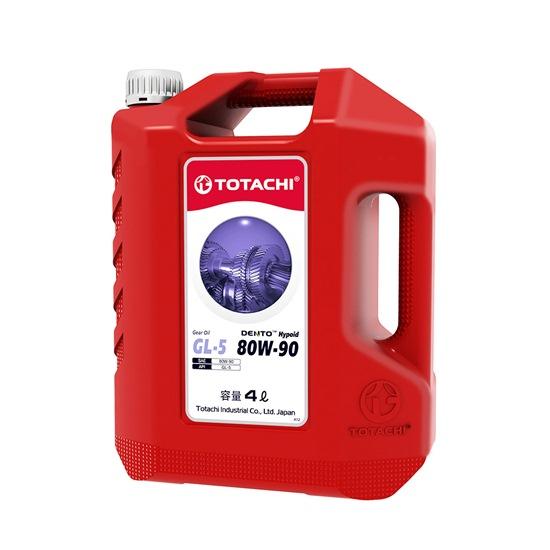 Трансмиссионное масло TOTACHI DENTO GEAR OIL GL-5 80W90 4Л