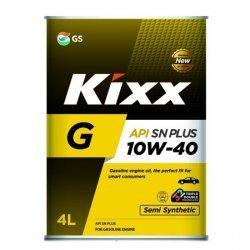 Моторное масло KIXX G 10W40 SN PLUS  4Л П/С