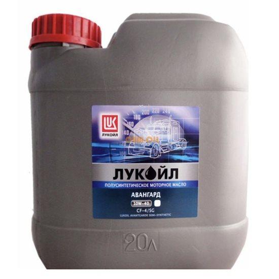 Моторное масло ЛУКОЙЛ АВАНГАРД SAE 10W40 CF-4\SG полусинт 20л
