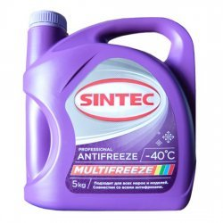 Антифриз SINTEC MULTI FREEZE -40 5 кг