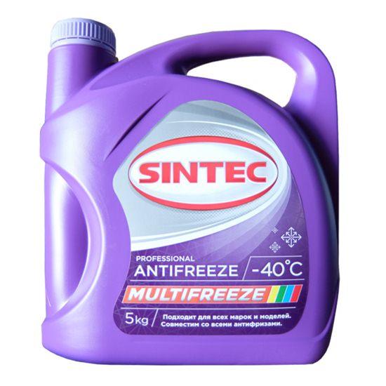 Антифриз SINTEC MULTI FREEZE -40 5 кг