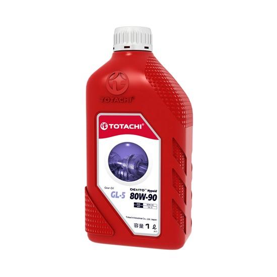 Трансмиссионное масло TOTACHI DENTO GEAR OIL GL-5 80W90 1Л
