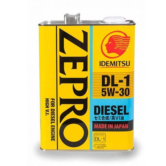 Моторное масло IDEMITSU ZEPRO DIESEL DL-1 5W30 ACEA C2-08 4Л