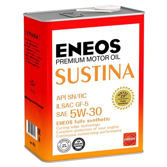 Моторное масло ENEOS SUSTINA SN 5W30 СИНТЕТИКА 4Л