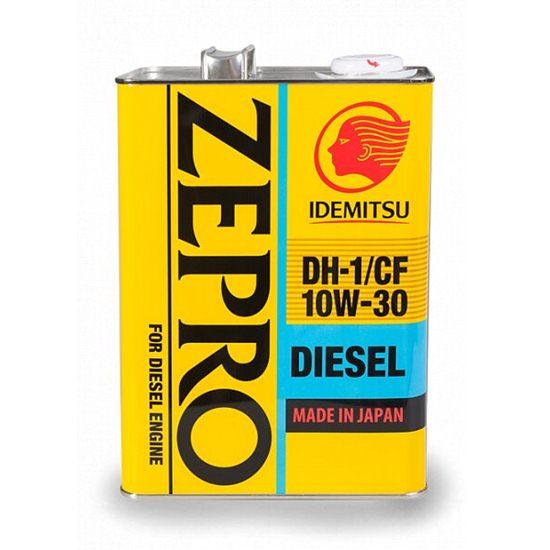 Моторное масло IDEMITSU ZEPRO DIESEL CF/DH-1 10W30 4Л