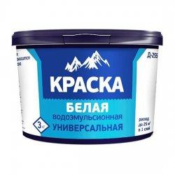 КРАСКА В/ЭМУЛ.УНИВЕРСАЛЬНАЯ Диола-255 2,7кг,3.0 кг ведро