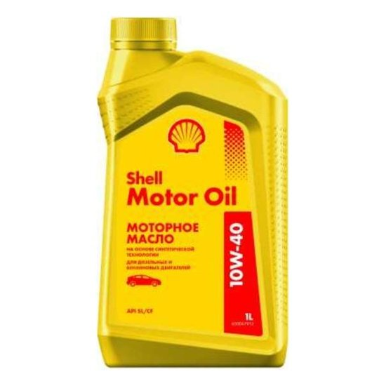 Моторное масло SHELL HELIX MOTOR OIL 10W40  1л
