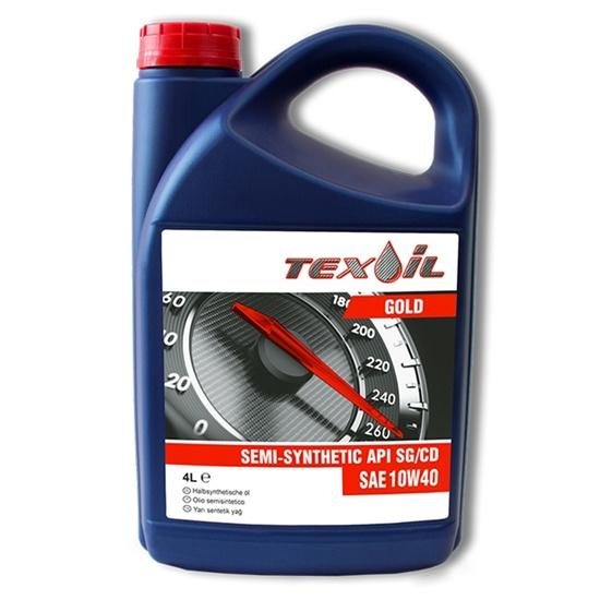 Моторное масло TEXOIL 10W40 SG\CD GOLD 4Л