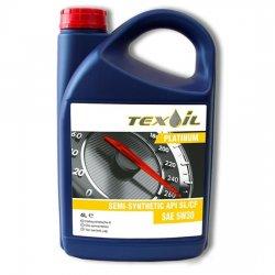 Моторное масло TEXOIL 5W30 SL\CF PLATINUM 4Л