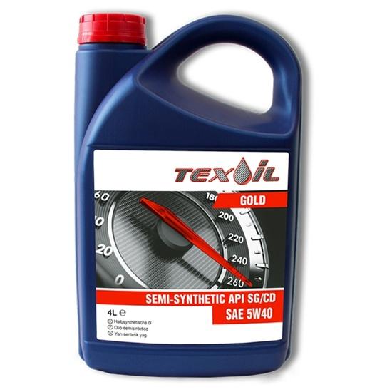 Моторное масло TEXOIL 5W40 SG\CD GOLD 4Л