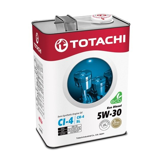 Моторное масло TOTACHI ECO DIESEL 5W30 CI-4/CH-4/SL   4л