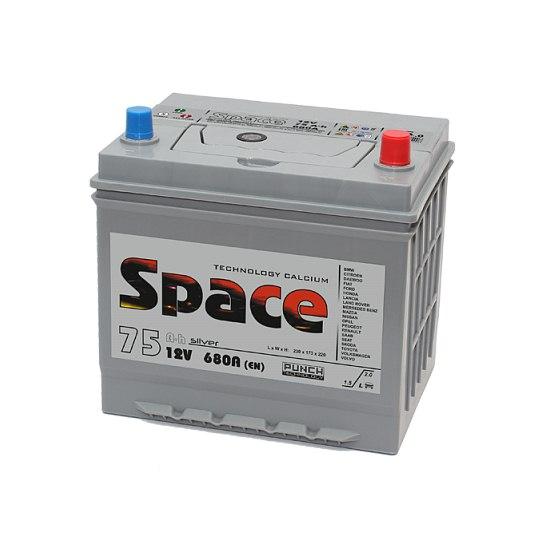 АКБ SPACE Ca/Ca ASIA 95D23L 6СТ-75 VLA