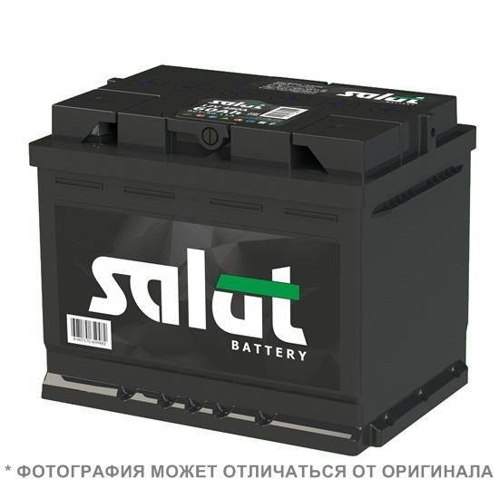 АКБ SALUT 6СТ-62 LA ПРЯМОЙ