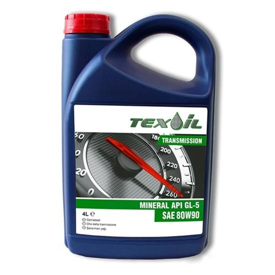 Трансмиссионное масло TEXOIL 80W90 GL-5 TRANSMISSION 4Л