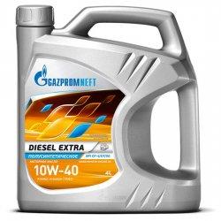 Моторное масло GAZPROMNEFT Diesel Extra 10w40 CF-4/SG п/синт  4л