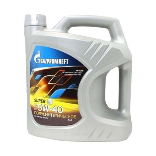 Моторное масло GAZPROMNEFT Super 5w40 SG/CD п/синт 4л