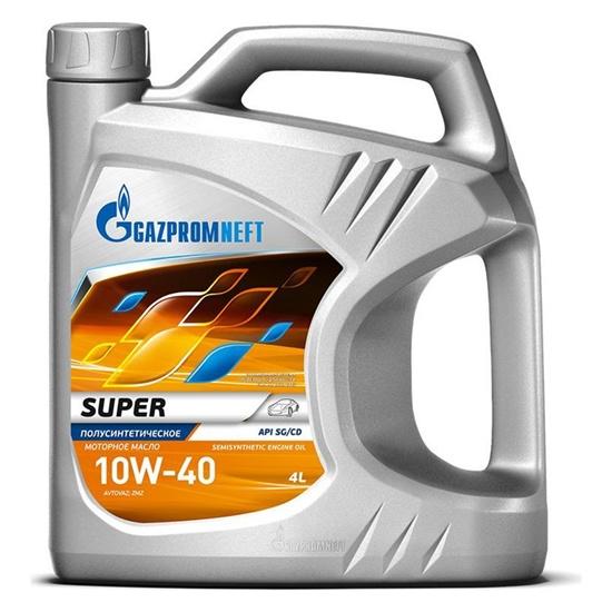 Моторное масло GAZPROMNEFT Super 10w40 SG/CD п/синт 4л