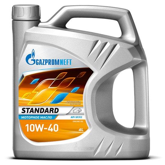 Моторное масло GAZPROMNEFT Standard 10w40 SF/CC мин  4л