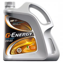 Моторное масло G-ENERGY Synthetic Far East 0w20 SN/GF-5 синт  4л