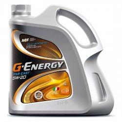 Моторное масло G-ENERGY Synthetic Far East 5w20 SN/GF-5 синт  4л