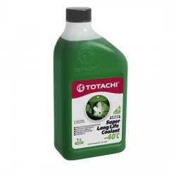 Антифриз TOTACHI SUPER LLC -40 ЗЕЛЕНЫЙ 1Л