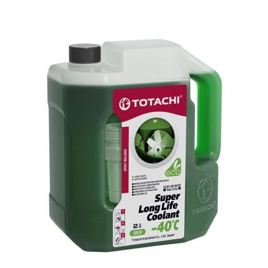 Антифриз TOTACHI SUPER LLC -40 ЗЕЛЕНЫЙ 2Л