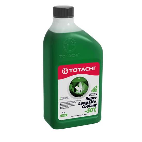 Антифриз TOTACHI SUPER LLC -50 ЗЕЛЕНЫЙ 1Л